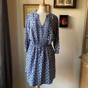 Lucky Brand Drawstring Waist Dress